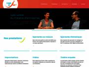 screenshot http://www.theatre-d-entreprise.fr a nous de jouer ! le théâtre d'entreprise