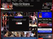 screenshot http://www.theatreartmoderne.com ateliers de theatre paris 15ème et montrouge