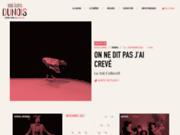 screenshot http://www.theatredunois.org théâtre dunois
