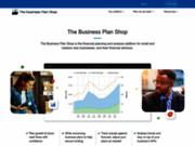 screenshot http://www.thebusinessplanshop.com/france/accueil logiciel de business plan