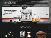 screenshot http://www.thecoffeelovers.fr the coffee lovers