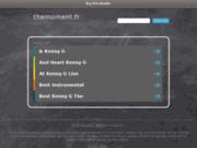 screenshot http://www.themoment.fr Organisation tous types d'événements particuliers et entreprises à Chamonix