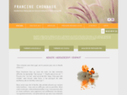 screenshot http://www.therapeute-enligne.com psychothérapeute et therapeute en ligne