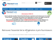 screenshot https://www.thermofroidistrib.com/ chambre froide