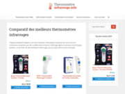Thermomètre infrarouge : avis, prix et comparatif
