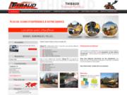 screenshot http://www.thibaud-tp.com aménagement extérieur en Vendée 85