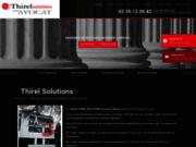 screenshot http://www.thirel.fr/ cabinet d'avocat droit des affaires au havre 76