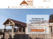 Thiriot & Fils - travaux de charpente dans les Vosges