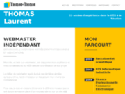 screenshot http://www.thom-thom.net webmaster indépendant