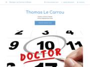 screenshot https://thomas-lecarrou.business.site/ Dr Thomas Le Carrou