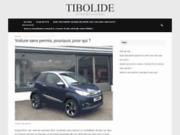 screenshot http://www.tibolide.fr/ voiture sans permis dans le 59 et 62 chez tibolide
