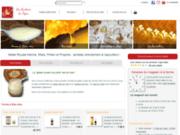 screenshot https://www.tigoo-miel.com/ Achetez le miel et la gelée royale directement au producteur