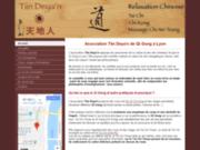 screenshot http://www.tiindeyan.com cours et stage de tai chi et qi gong à lyon