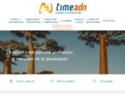 screenshot http://www.timeadn.com Cabinet Time ADN
