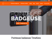 screenshot http://www.timekeys.fr/ Pointeuse et contrôle d'accès Timekeys