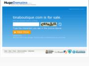 screenshot http://www.tinaboutique.com jeux en bois bio