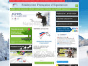 screenshot http://www.tipi-jo-34.ffe.com ferme equestre tipi'jo
