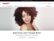 screenshot https://tissage-bresil.com/ tissage brésilien