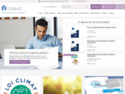 screenshot http://www.tissot.fr tissot