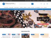 screenshot http://www.tissusprice.com vente de tissus au mètre