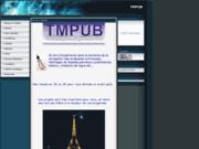 screenshot http://www.tmpub.fr.gd bureau d'etudes
