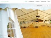 Location de tentes pour réceptions 60
