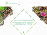 Toit végétalisé en Alsace