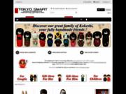 Tokyo Smart, nouvelles poupées kokeshi et daruma