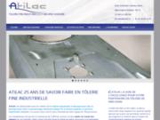 screenshot http://www.tolerie-fine-chaudronnerie.com/ atilac  spécialiste en  tolerie fine industrielle