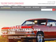 screenshot http://www.toleriechatelleraudaise.com Tôlerie Châtelleraudaise