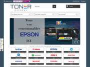 screenshot http://www.toner-express.com cartouches d'encre