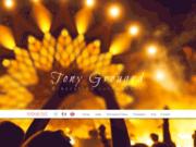 screenshot http://www.tony-grouard.com dj producteur en haute normandie