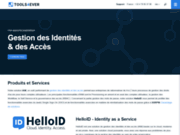screenshot http://www.tools4ever.fr/ Identity management au sein de votre entreprise