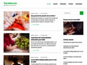 screenshot http://www.top-bebe.com top bébé :  webzine des enfants.