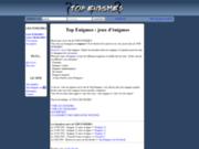 screenshot http://www.top-enigmes.com top enigmes