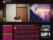 screenshot http://www.tophos.com tophos : photographes et cinéastes de mariage
