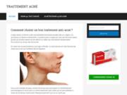 Le site des traitements contre l'acné