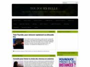 screenshot http://www.toujours-belle.com/ Toujours belle, le blog spécialisé en beauté féminine
