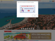 screenshot http://www.tourisme-menton.fr menton site officiel - office de tourisme