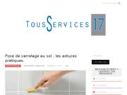 screenshot http://www.tous-services-17.com/ entreprise multiservices tous services 17