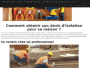 screenshot http://www.toutes-les-energies-renouvelables.fr le guide des énergie nouvelles