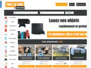 Plateforme en ligne de mise en relation pour la location d'objets en tout genre en Belgique