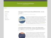 screenshot http://www.toutsurlephotovoltaique.fr tout sur le photovoltaique