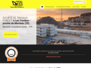TPB, travaux publics dans le Doubs