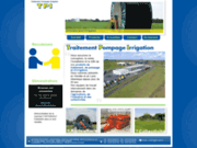 screenshot http://www.tpi-ouest.fr traitement irrigation et pompes en vendée