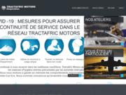 screenshot https://www.tractafrictmc-gabon.com Concessionnaire automobile