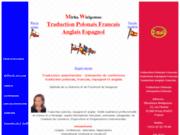 screenshot http://www.traducteur-polonais.fr traduction polonais francais anglais espagnol