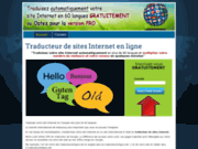 screenshot http://www.traducteurenligne.net traducteur de site