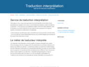 Traduction & interprétation