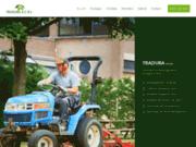 Aménagement d'espace vert en Belgique